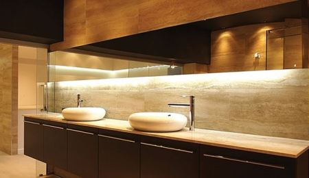ambiance lighting bathroom