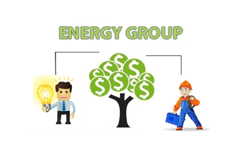 Energy Group Infographic Mobile Carousel
