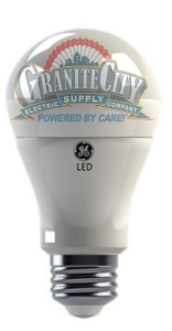 led bulb with gce logo