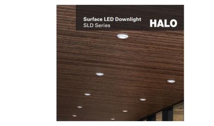halo led downlight