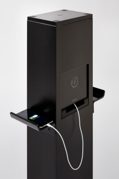 new outdoor mobile device charging stations from legrand gce tv. Black Bedroom Furniture Sets. Home Design Ideas